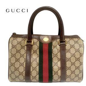 Gucci, GG monogram canvas Boston bag